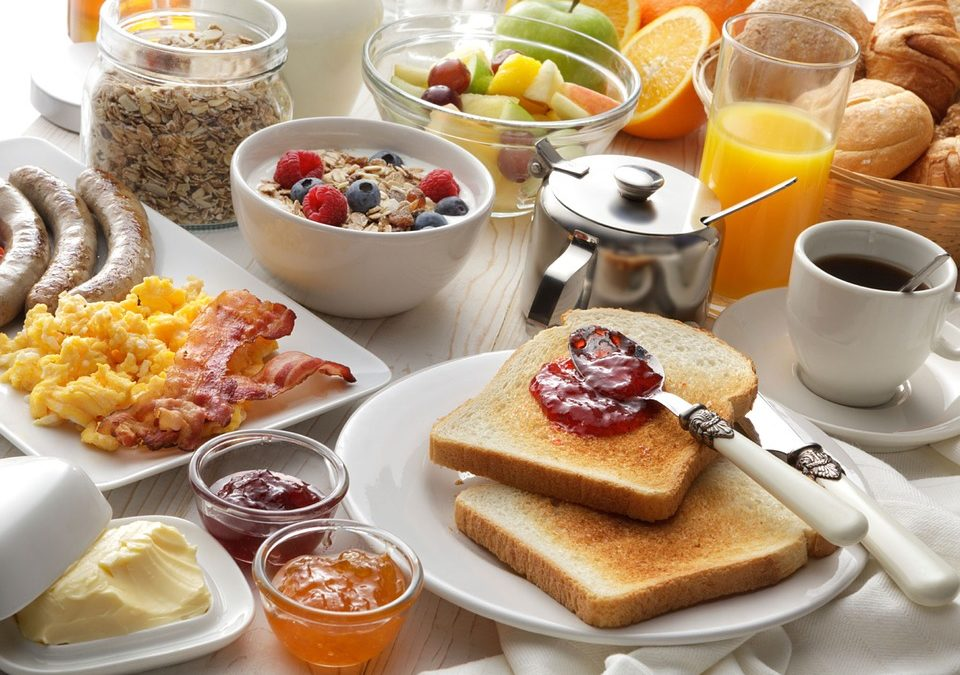 What we eat for breakfast!
